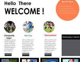Nro 8 kilpailuun Create one page PSD Design käyttäjältä Graphic3work