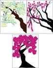 Graphic Design Inscrição do Concurso Nº2 para Wall decal design - Trees and Flowers