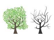 Graphic Design Inscrição do Concurso Nº10 para Wall decal design - Trees and Flowers