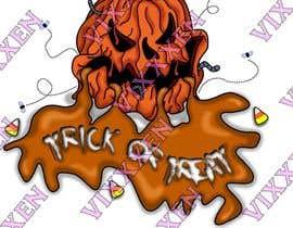 #18 for Halloween t-shirt af Vixxxen