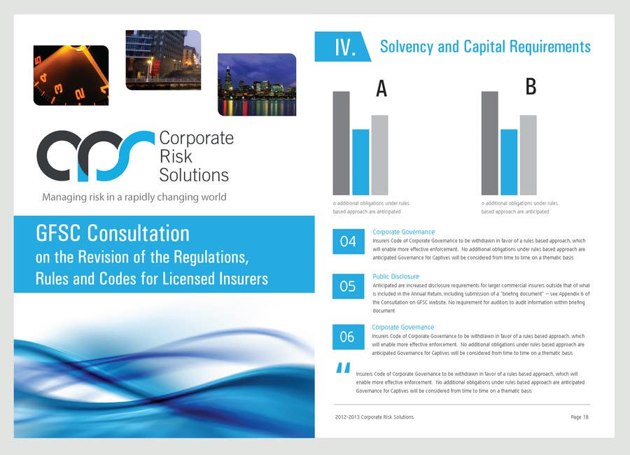 #33 for Design a template for our corporate publications by bluedartdesigner