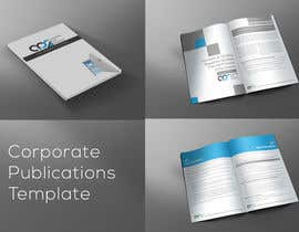 #2 for Design a template for our corporate publications by xtreemsteel
