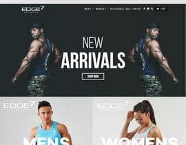 Nro 393 kilpailuun Design a logo for my Fitness Gym Wear Brand called EDGE - Premium Contest käyttäjältä avori