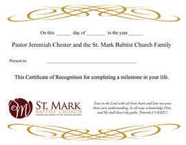 Nro 17 kilpailuun Graduation Certificate käyttäjältä janetcobb
