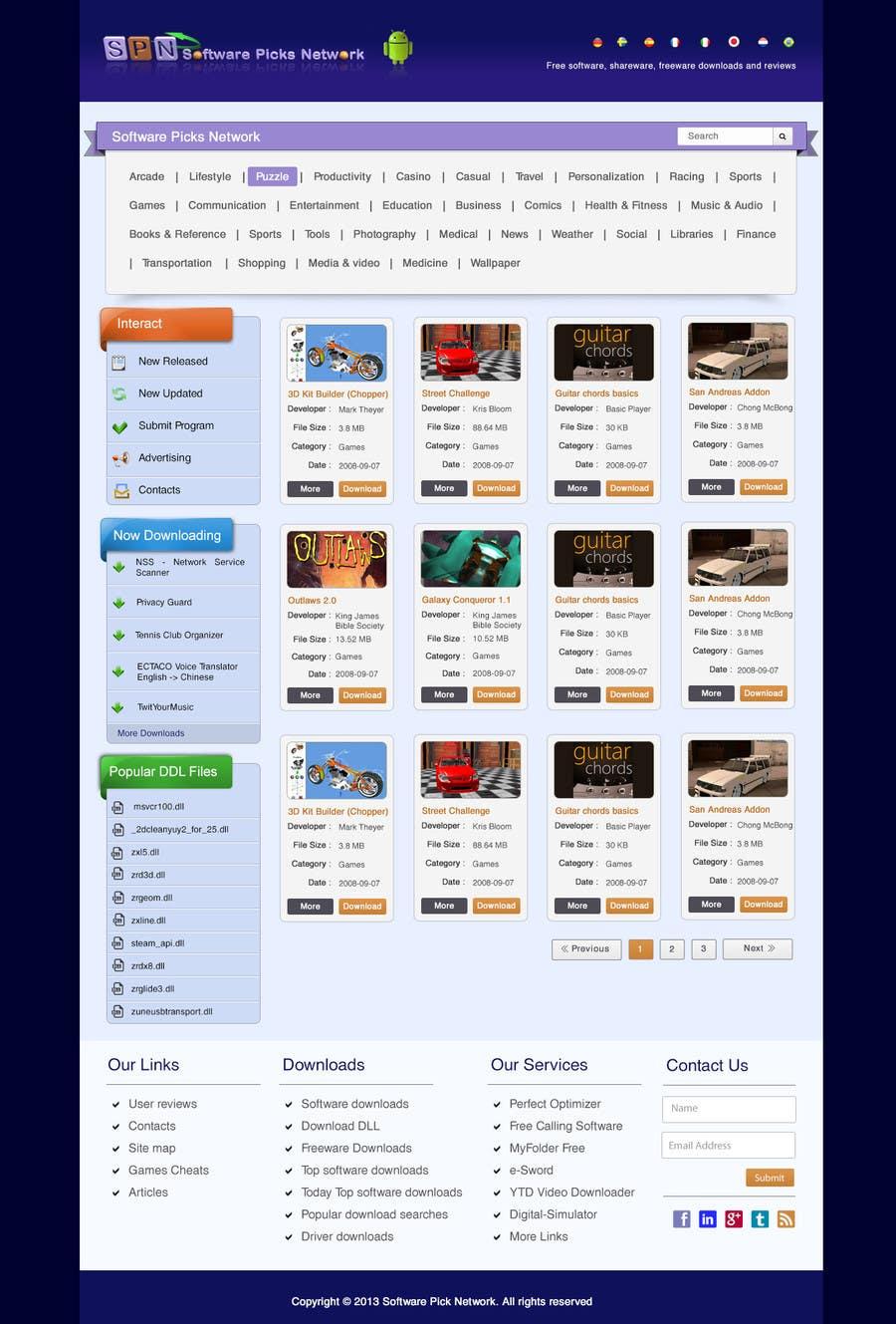 Bài tham dự cuộc thi #                                        10                                      cho                                         Enhancement of current website template