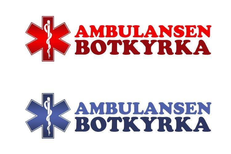 "Proposition n°44 du concours Designa en t-shirt for ""Ambulansen Botkyrka"""