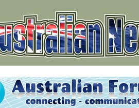 #30 for Design a 2 x Banners/logos - 1 for www.forumsau.com - image size 560w x 85h - 1 for www.newsau.com 880w x180h af MCSChris
