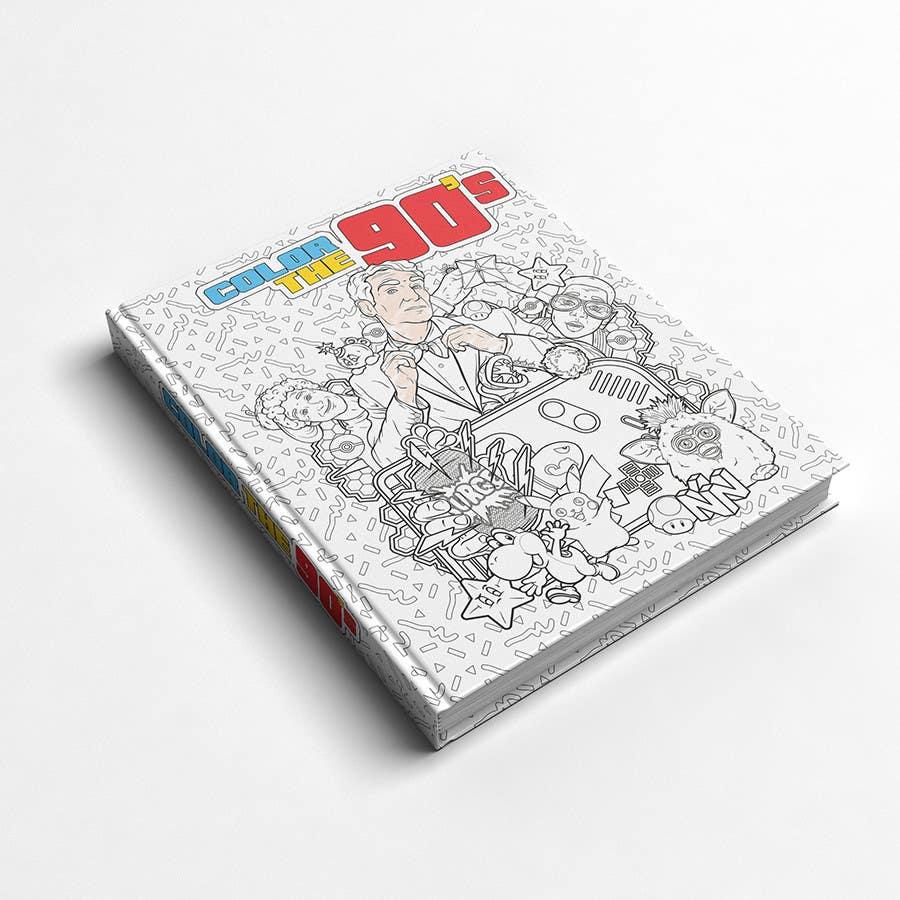 Kilpailutyö #19 kilpailussa Need Coloring Book Cover