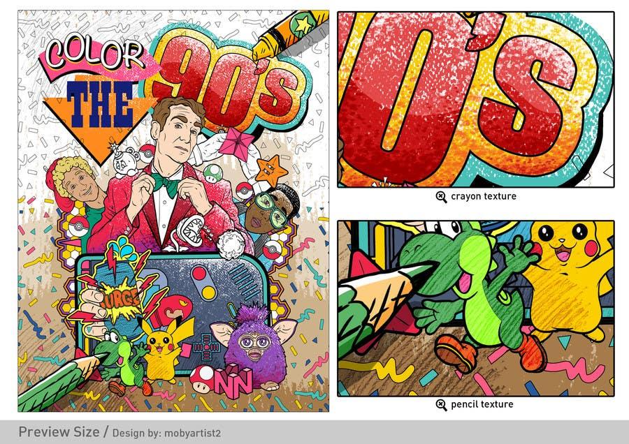 Kilpailutyö #27 kilpailussa Need Coloring Book Cover