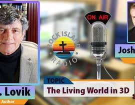Nro 13 kilpailuun Create Radio Interview Background PSD käyttäjältä therichmediaGFX