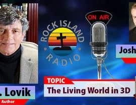 Nro 14 kilpailuun Create Radio Interview Background PSD käyttäjältä therichmediaGFX