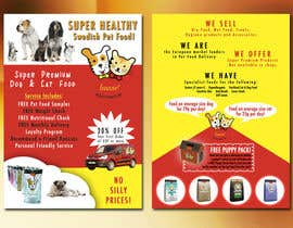 #28 for Design a Flyer for our Petfood Business by Alliosaurus