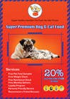 Contest Entry #21 for Design a Flyer for our Petfood Business