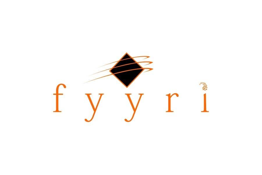 """Intrarea #106 pentru concursul """"Logo Design for Fyyri"""""""