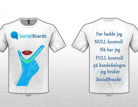 #30 for T-shirt Design for SocialBoards af lovygoel