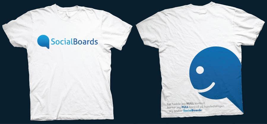 Penyertaan Peraduan #                                        3                                      untuk                                         T-shirt Design for SocialBoards