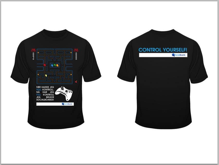 Penyertaan Peraduan #                                        16                                      untuk                                         T-shirt Design for SocialBoards