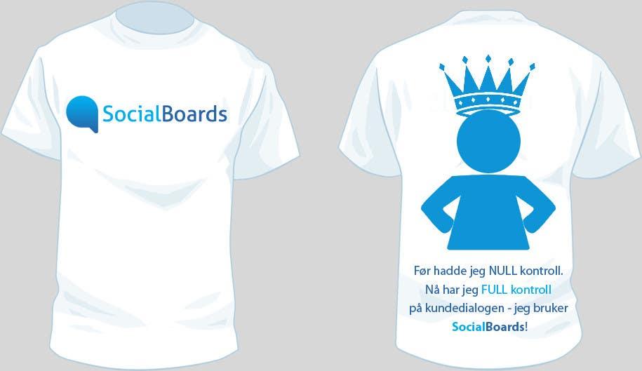 Penyertaan Peraduan #                                        32                                      untuk                                         T-shirt Design for SocialBoards