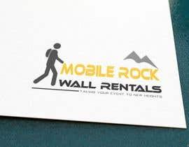 monirbmda tarafından Design a serious Logo for a Mobile rock climbing company. için no 14
