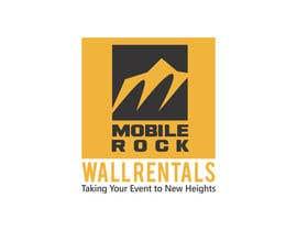 Nro 62 kilpailuun Design a serious Logo for a Mobile rock climbing company. käyttäjältä happychild