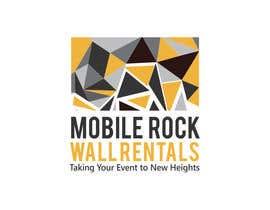 Nro 63 kilpailuun Design a serious Logo for a Mobile rock climbing company. käyttäjältä happychild