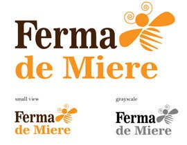nº 123 pour Realizează un design de logo for Honey Farm par karmenflorea