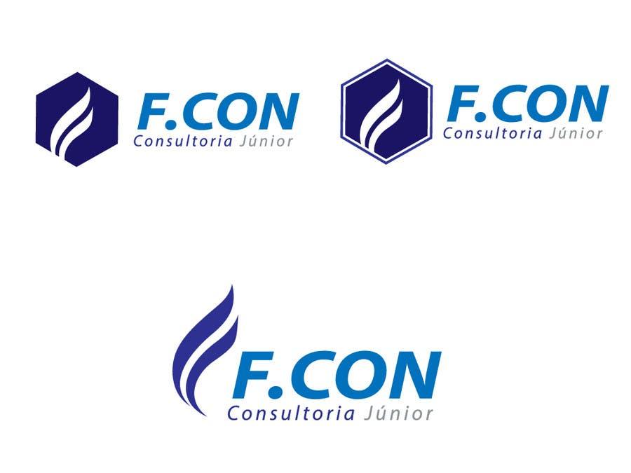 Kilpailutyö #105 kilpailussa Logo F.CON Consultoria Júnior