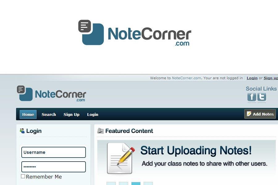 Proposition n°                                        17                                      du concours                                         Design a Logo for NoteCorner.com