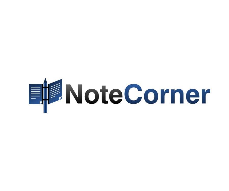 Proposition n°                                        8                                      du concours                                         Design a Logo for NoteCorner.com