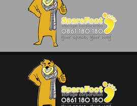 #4 for Company Character/Mascot Design - Illustration design for Sparefoot Storage Co. af xixoseven