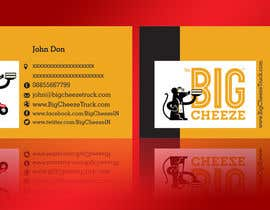#15 for Design some Business Cards for the Big Cheeze food truck af linokvarghese