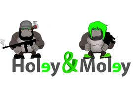 nº 40 pour Design a Logo / Identity for Holey & Moley par fingal77