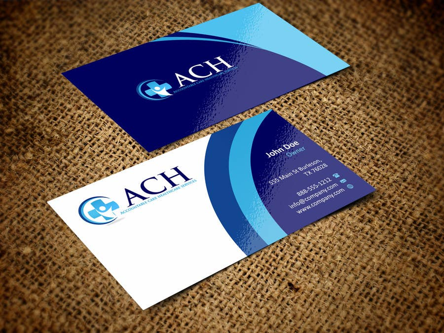 Proposition n°7 du concours Design some Business Cards for ACH