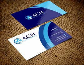 #7 untuk Design some Business Cards for ACH oleh ezesol