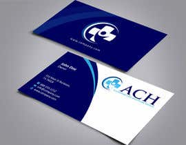 #49 para Design some Business Cards for ACH por ezesol