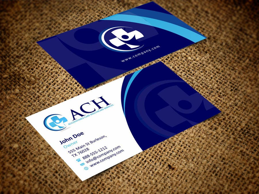 Proposition n°50 du concours Design some Business Cards for ACH