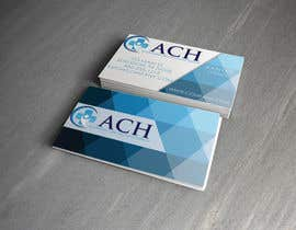 nº 45 pour Design some Business Cards for ACH par ali92hassan