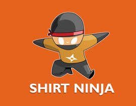 Nro 23 kilpailuun Develop SHIRT NINJA logo / brand identity käyttäjältä turkmentunc