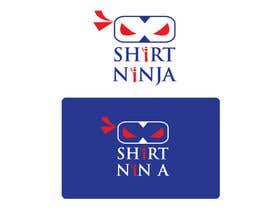 Nro 3 kilpailuun Develop SHIRT NINJA logo / brand identity käyttäjältä anoaraakther3