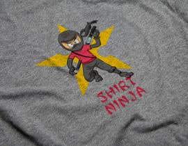 Nro 22 kilpailuun Develop SHIRT NINJA logo / brand identity käyttäjältä Jebzel
