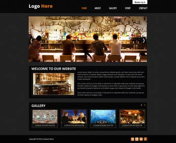 #5 for Build a Website for Bar & Nightclub Reviews by creativedesign06
