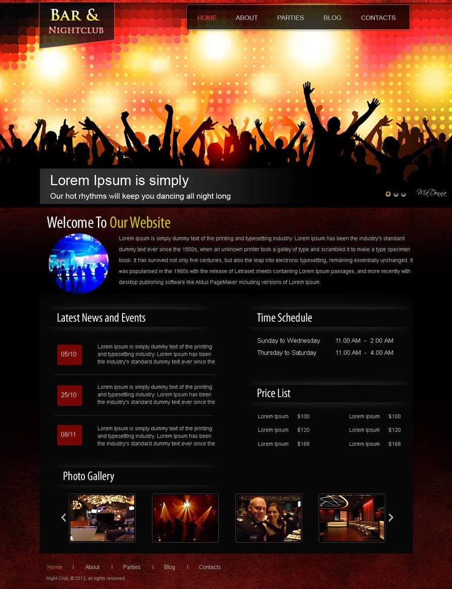 #11 for Build a Website for Bar & Nightclub Reviews by web92