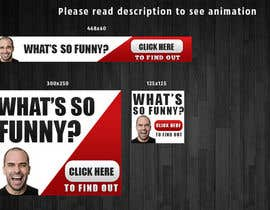 nº 5 pour Design a Banner for funny video website par mayerdesigns