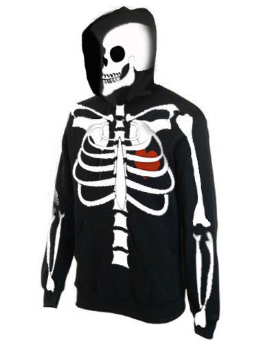 #15 for Pregnant Skeleton T-shirt Design by marinaChe