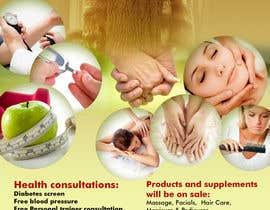 Sahir75 tarafından I need a flyer designed for a health and wellness expo için no 7