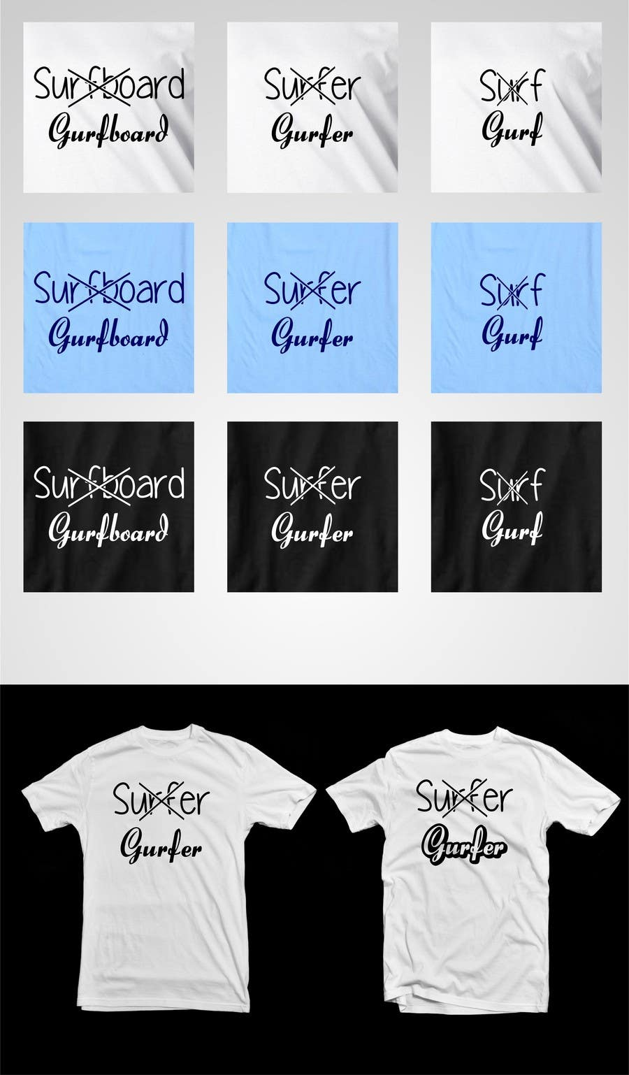 #11 for Design a T-Shirt for Girl Surfing by erupt