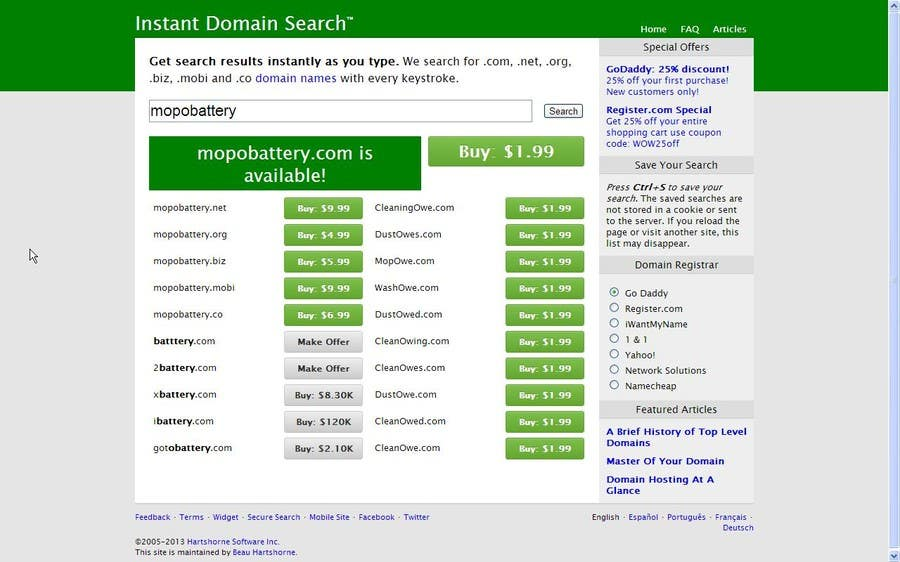 #253 for FIND A GREAT DOMAIN NAME / BRAND NAME FOR ME by Anuj33