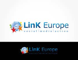 nº 283 pour Logo Design for Link Europe par saiyoni