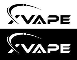 Nro 42 kilpailuun X VAPE Logo käyttäjältä GururDesign