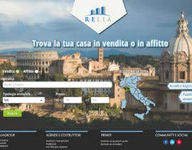 nº 4 pour Disegnare la Bozza di un Sito Web for real estate listing website par Adeweb